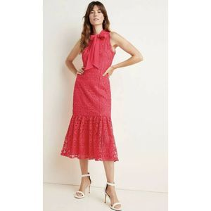 Anthropologie ML Monique Luliller  Lace Midi Dress
